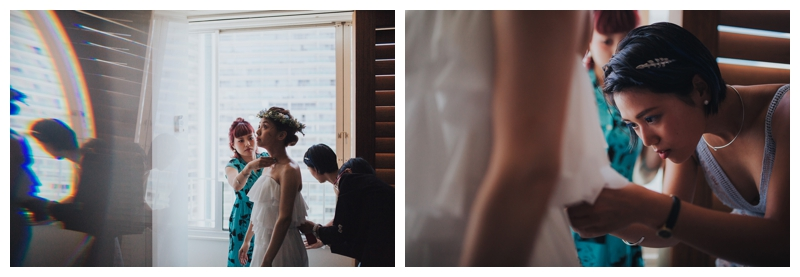 Japanese wedding in Hawaii, The Modern Hotel wedding, Hawaii Wedding Photographer